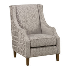 Jofran - Quinn Accent Chair, Dove Gray - Armchairs and Accent Chairs