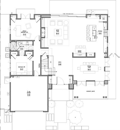 Unique Floor Plan by Eric Aust Architect