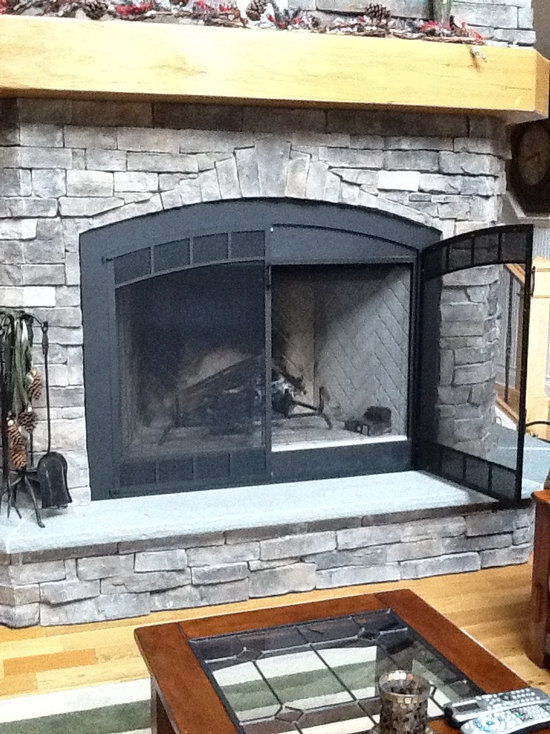 Fireplace Doors For Prefabricated Fireplace   Home Decorating ...