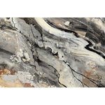 "Giant Art - ""Minerals Iv Crop"" Museum Mounted Canvas Print, 40""x30"" - Your ready to hang artwork is printed on canvas then stretched and finished with an elegant 2-inch deep - black edge all around for a clean contemporary look."