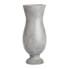 "Turin 25"" Tall Concrete Floor Vase"