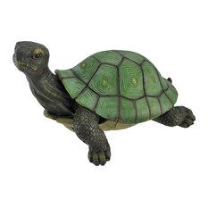 Gorgeous Lifelike Tortoise Garden Statue Turtle Decor