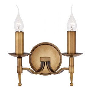 Wall Light - Antique brass finish