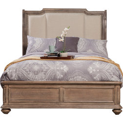 Traditional Sleigh Beds by Alpine Furniture, Inc
