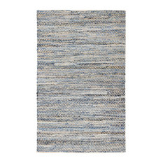 Austin Denim and Jute Rug, 5'x7'