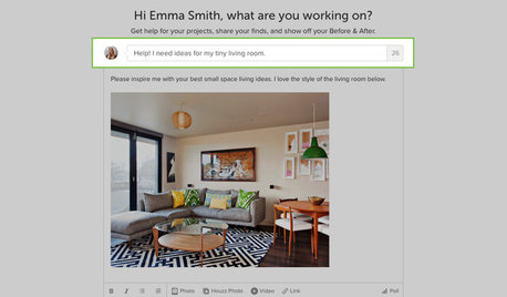 Inside Houzz: Introducing Our New Advice Section