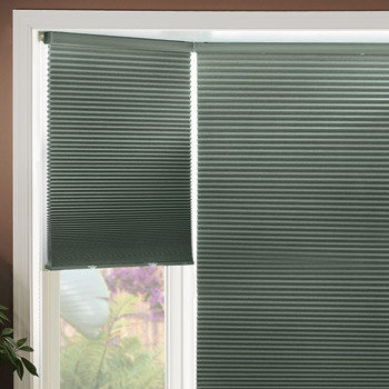 graber graber 38inch double cell cellular shades cocoon blackout