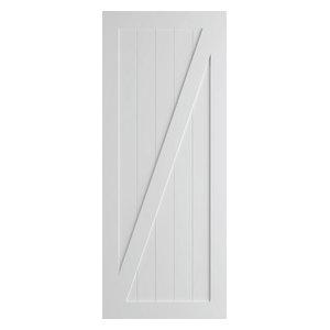 Z-Brace Modern Barn Door, Primed, 36