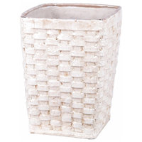 Privilege International Ceramic Weave Basket, Large