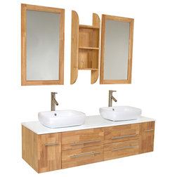 Stunning Modern Bathroom Vanities And Sink Consoles by Burroughs Hardwoods Inc