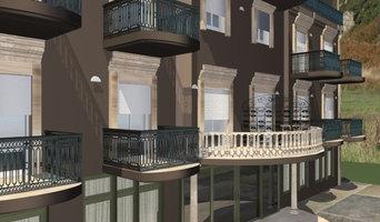 Renovación de fachada de hotel en Pescara. Italia