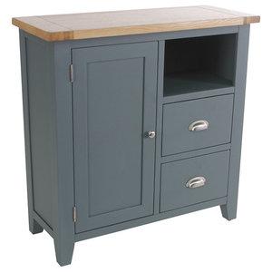 2-Drawer Organiser Cabinet, Dark Grey