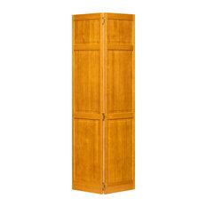"Closet Door, Bi-fold, Traditional Six Panel Golden Oak 80"" x 24"""