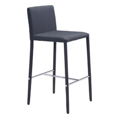 Confidence Counter Chairs Black Set Of 2