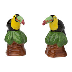 Toucan Salt and Pepper Shakers, 3 oz.