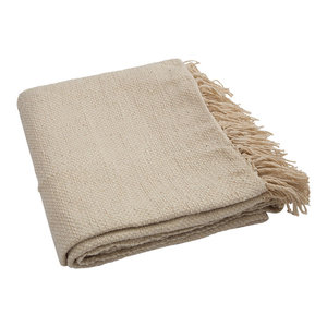 Fringe Throw, Natural