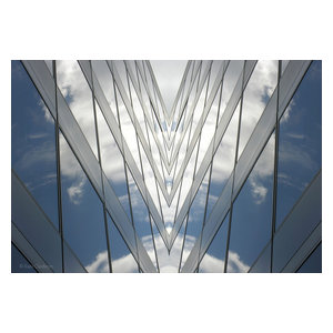 """""""Funnel"""" Aluminium Wall Mounted Picture, 76x52 cm"""