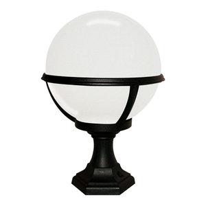 Outdoor Pedestal/Porch Lantern, Black