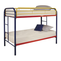 Thomas Bunk Bed, Rainbow, Twin Over Twin