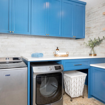 Lucas Ranch - Mediterranean Laundry Room