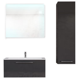 Contemporary Bathroom Vanities And Sink Consoles by Home Designer Goods