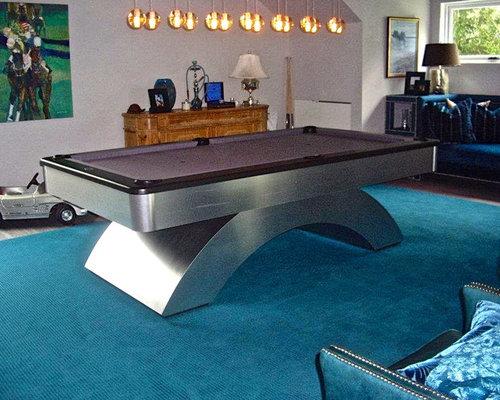 Custom Uptown Waterfall Pool Table   Furniture