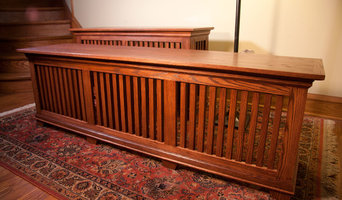 Red Oak Craftsman Style Radiator Covers
