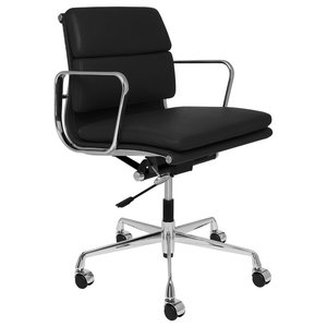 Baxton Studio Hamilton Office Chair Midcentury Office