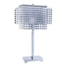 """28"""" Crystal Strings Table Lamp"""