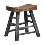 Harper Square Stool, Counter Stool by Kosas Home