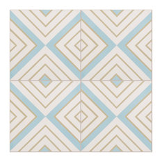 Darcy Pattern Tiles, Set of 12