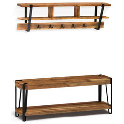 Industrial Hall Trees by Bolton Furniture, Inc.