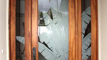Custom Hawaiian Wood Doors