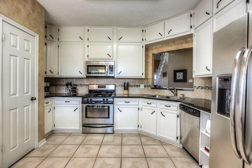 What Colors Would You Redo These Kitchen Cabinets And Counters