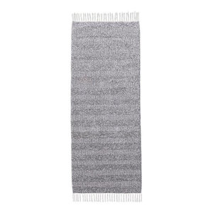 Maja Grey Vinyl Floor Cloth, 170x200 cm