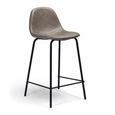 Aeon Furniture Maxine Set Of 2 Bar Stool In Smoke Grey AE9013-Counter-Smoke