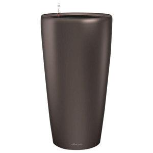 Rondo Self Watering Planter, 40x75 CM, Coffee