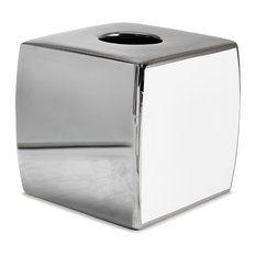 Delancey Chrome Tissue Holder