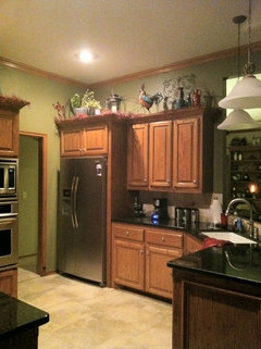 cost to repaint kitchen cabinets