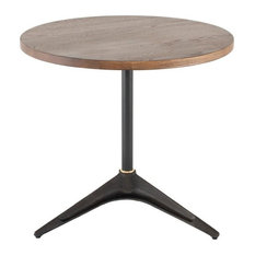 Lucian Bistro Table Smoked by Basin and Vessel