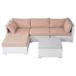Vintage Tropical Outdoor Lounge Sets by Velago Furniture Outlet