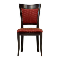Luxus Beech Wood Dining Chairs, Set of 2