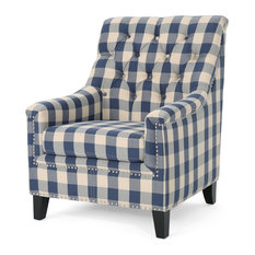 Astonishing 50 Most Popular Plaid Armchairs And Accent Chairs For 2019 Squirreltailoven Fun Painted Chair Ideas Images Squirreltailovenorg