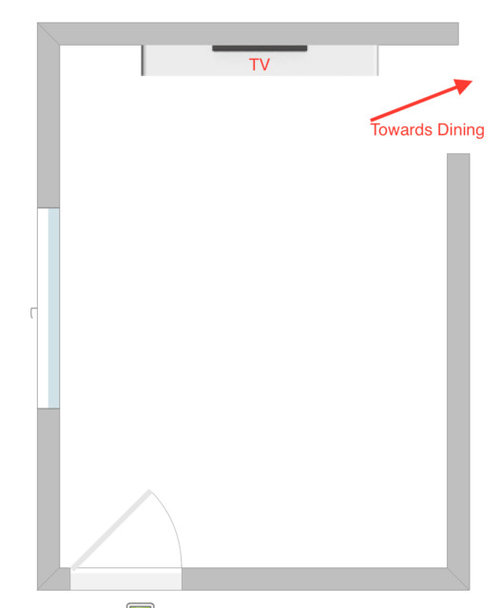 Rectangular Living Room Layout For Tv On Shorter Wall