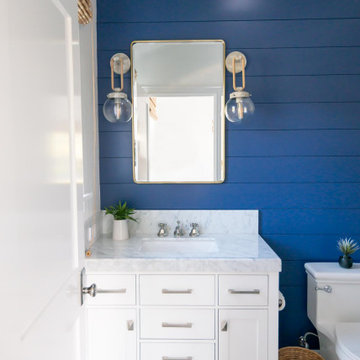 Coastal Blue Bathroom