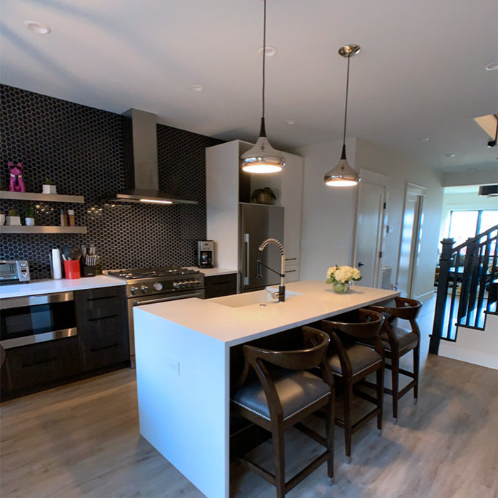 Capitol Hill Rowhouse Kitchen
