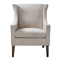 Addy Wing Chair, Cream