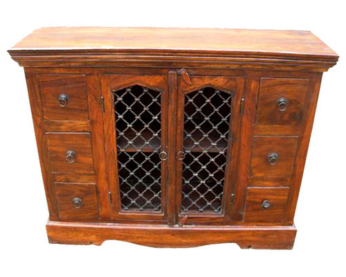 Philadelphia Classic Honey Oak Dining Room Buffet Credenza Cabinet   Buffets  And Sideboards