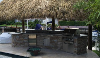 L-Shaped Outdoor Kitchen