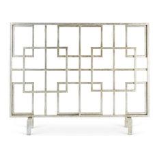 Contemporary Fireplace Screens | Houzz